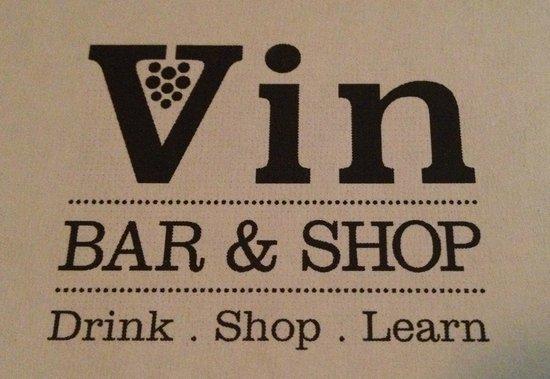 Vin Bar and Shops: Présentation de la carte des vins