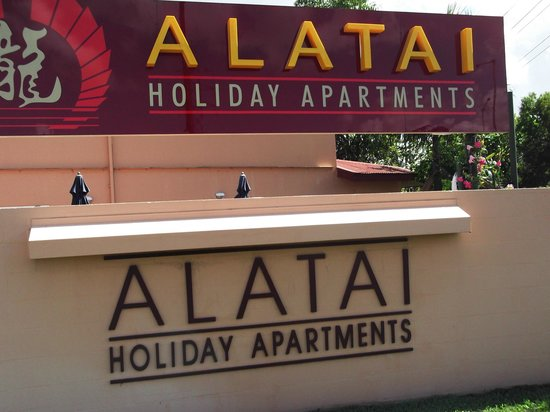 Alatai Holiday Apartments: The Front of the apartments