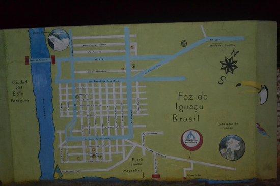 Hostel Paudimar Campestre: Mapa de Localização
