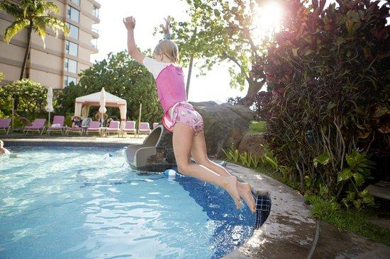 Ka'anapali Beach Club: Lots of fun in the pool