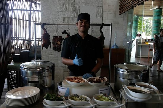 W Retreat & Spa Bali - Seminyak: One of the chefs