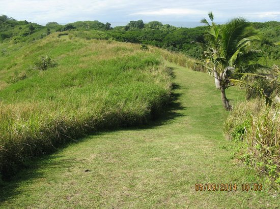 Sigatoka Sand Dunes National Park : more of the trail