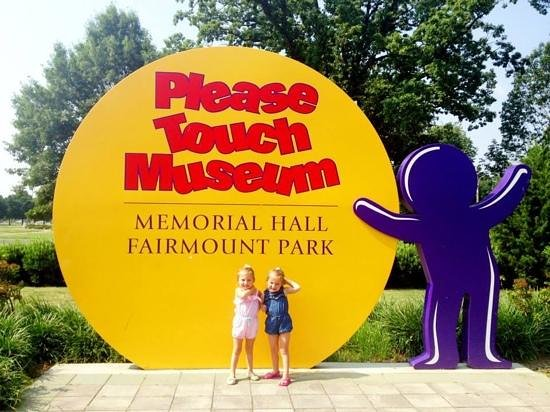 Please Touch Museum : arriving at the museum