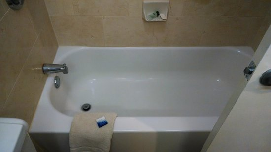 Best Western Market Center: bathtube