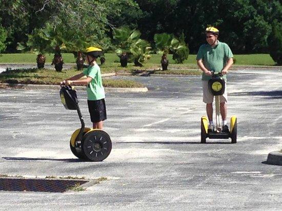 Z E Segway Tours: Two boys having fun