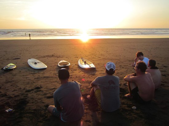 Nosara Paddlesurf : Taking a moment to take it all in