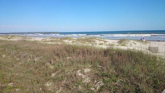 Ocean Isle Inn: beautiful weather