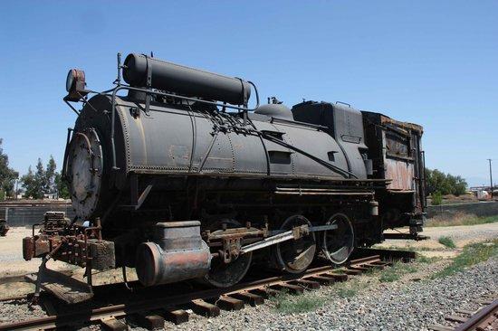 Orange Empire Railway Museum: Old engine