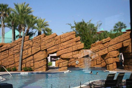 Radisson Resort at the Port: Very nice pool area