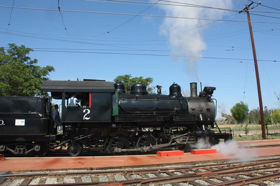 Orange Empire Railway Museum: Steam train