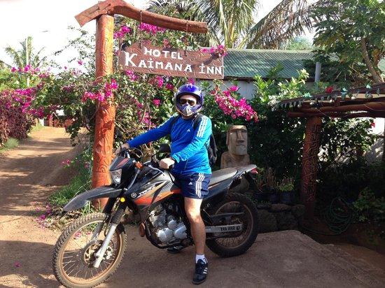 Kaimana Inn Hotel & Restaurant: Exploring Rapa Nui on two wheels