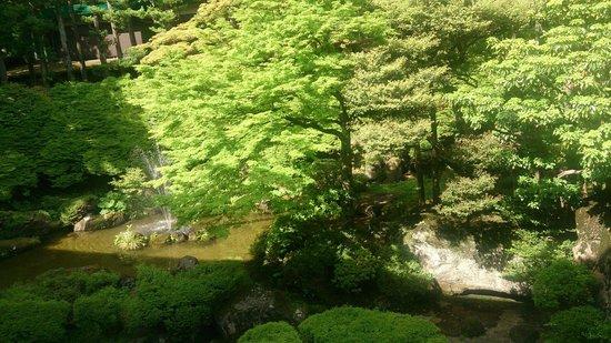 Hakone Hotel Kowakien: Vista da janela do quarto