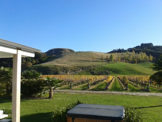 The Farmhouse at Mission Estate: The view from the rear decking