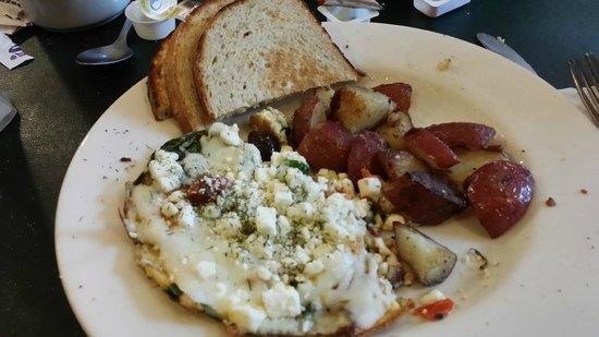 Bluegrass Grill: Mediterranean Frittata