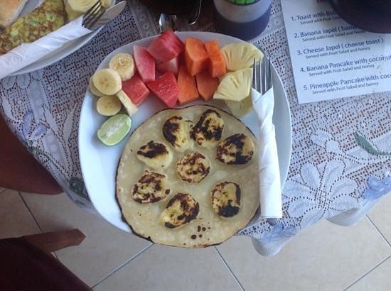 Tanah Semujan Ubud : perfect pancakes