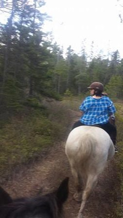The Lords Ranch Ministry : me riding shell!