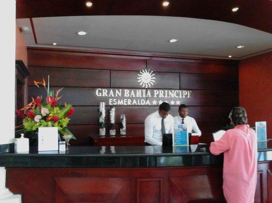 Luxury Bahia Principe Esmeralda Don Pablo Collection: la reception