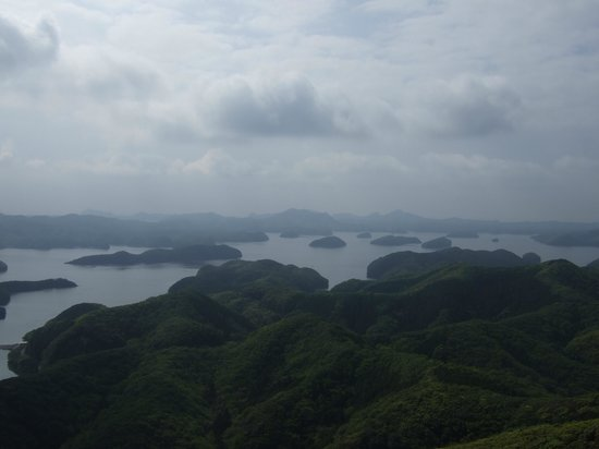 Eboshidake Observatory: 生憎の空模様でしたが、絶景です