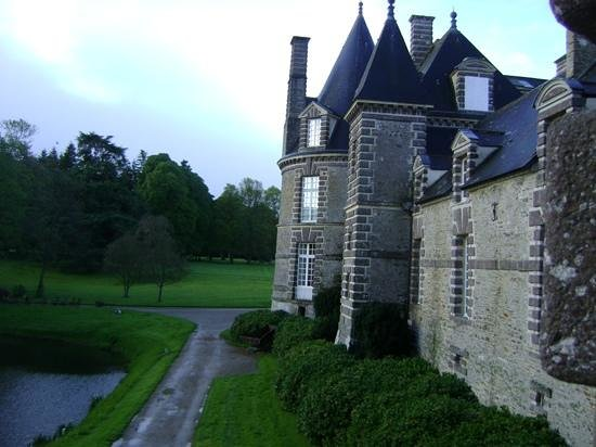 Chateau de Canisy : view from our room