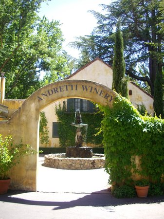 Wine Country Tour Shuttle : Andretti Winery