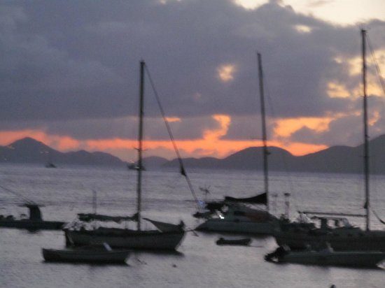 Grande Bay Resort : Cruz Bay Sunset