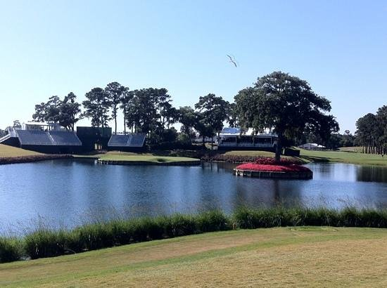 TPC at Sawgrass Stadium Course: Sawgrass 17th hole