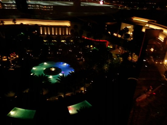 Red Rock Casino Resort & Spa: Amazing pools- night time resort-view from room- the strip view is beautiful as well