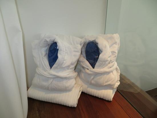 Radisson Blu es. Hotel, Roma: Bathrobes & slippers