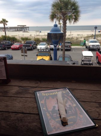 Spanky's Beachside: Supper from the second floor