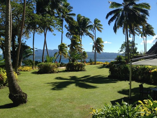 Qamea Resort And Spa Fiji: view from dining bure