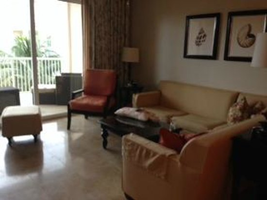 Key West Marriott Beachside Hotel: Living Room