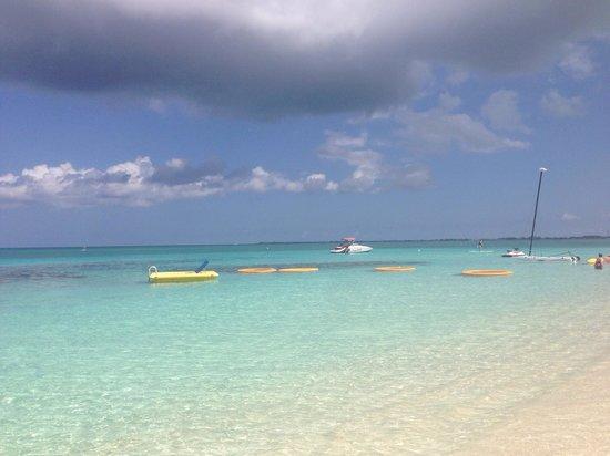 Grand Cayman Marriott Beach Resort : View from beach