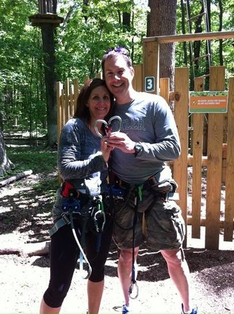Go Ape Treetop Adventure Course : celebrating our anniversary