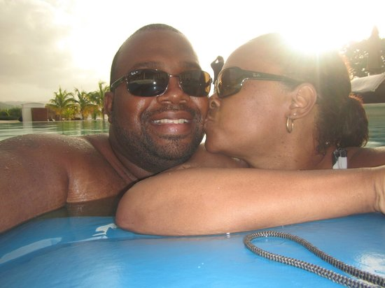 Secrets Wild Orchid Montego Bay: fun at the pool