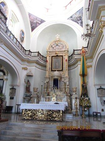 La Iglesia de Nuestra Senora de Guadalupe: Interior