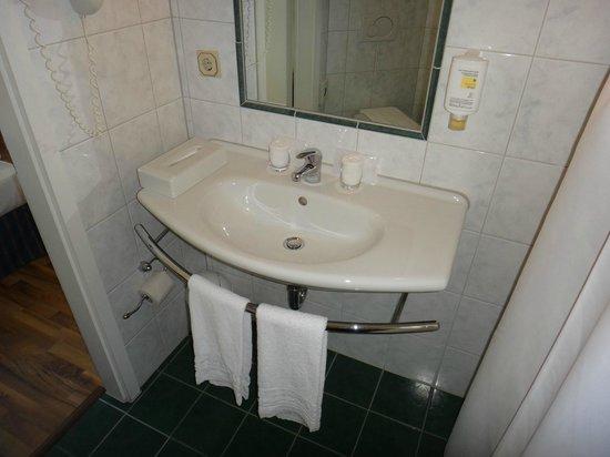 Hotel Excelsior: Detalhe do banheiro.