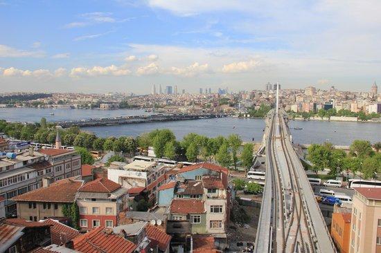 Hayriye Hanim Konagi Hotel: View from hotel balcony