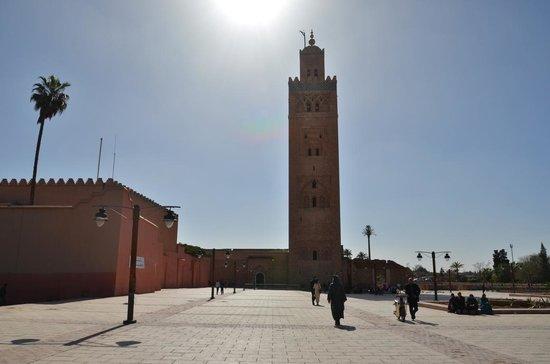 Mosquée et minaret de Koutoubia : Mesquita e Minarete de Koutoubia