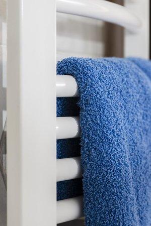 Hotel Adler: Handtuchwärmer in ausgewählten Bädern
