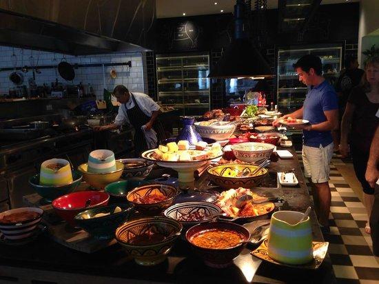 QT Port Douglas: Breakfast at Bazar