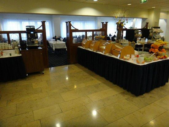 Hotel Excelsior : Salão de café da Manhã - detalhe 2.