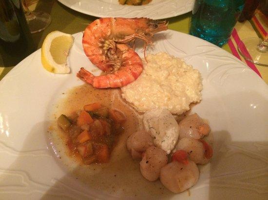 Restaurant Aubergine : Food is fab!
