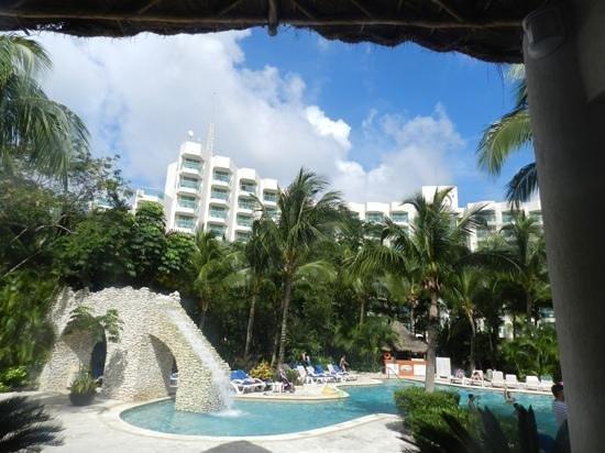Grand Park Royal Cozumel: area de piscinas