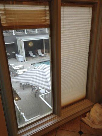 Hotel Ella : View from bathroom