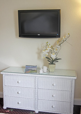 Crystal Beach Motor Inn: Flat Screen TV's in all rooms