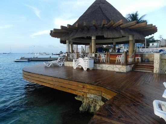 Grand Park Royal Cozumel: praia particular