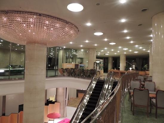 Grand Prince Hotel Kyoto : ホテルのフロント
