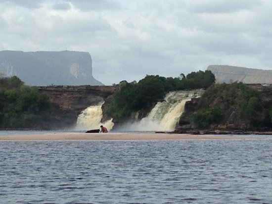 Campamento Canaima : view from our room