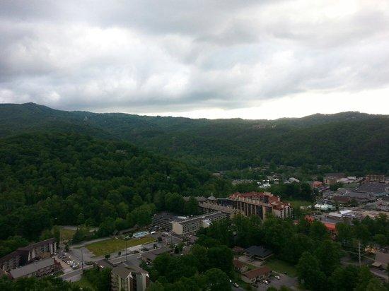 Park Vista - DoubleTree by Hilton Hotel - Gatlinburg: View from room 1505