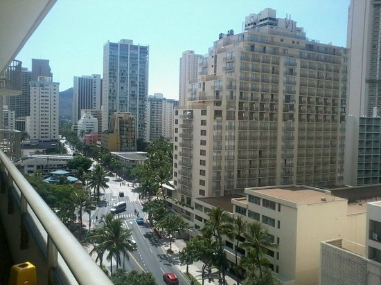 Downtown Honolulu View From My Hotel